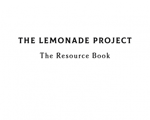 'The Lemonade Project' by Shared Health Foundation